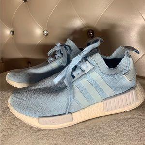 adidas nmd r1 primeknit ice blue